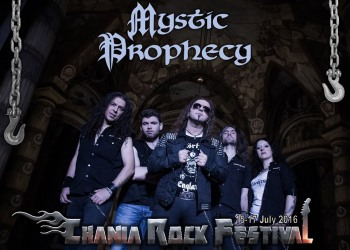 Mystic Prophecy (Ger) and Praying Mantis (UK) to complete Chania Rock Festival billing for 2016