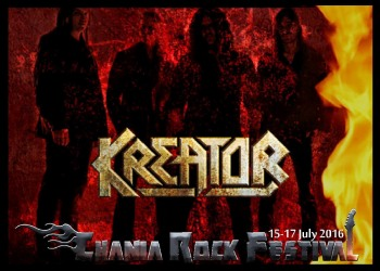 KREATOR will be the headliners of Chania Rock Festival!