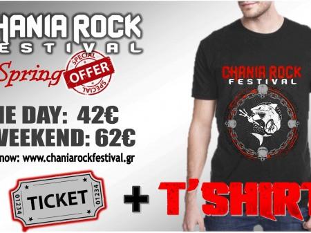 EASTER OFFER - Ticket + shirt !!