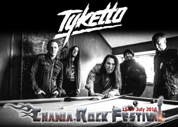 Tyketto confirmed for Chania Rock Festival 2016!