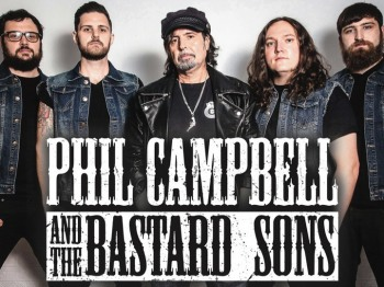 PHIL CAMPBELL AND THE BASTARD SONS for the first time in Greece