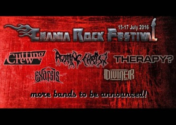 CRF announces first bands: Therapy(NI), Cutting Crew (UK), Rotting Christ (GR), Exarsis (GR), Diviner (GR)