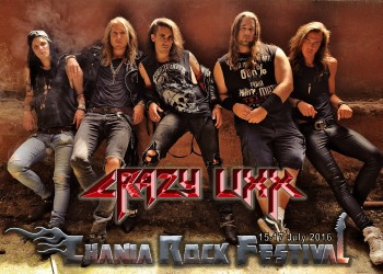 Crazy Lixx at Chania Rock Festival 2016